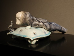 Awakened by Stranger  by Robert LaWarre (Ant Ware) Tags: art ceramics handmade pottery teapot
