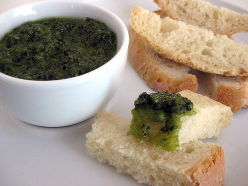 Basil Pesto with Crusty Bread1
