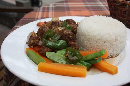 Lunch at Hoan Kiem Lake