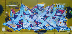 Missed One (AZEK one) Tags: city wild urban france color art colors wall writing painting one graffiti interestingness mural paint artist day tag explorer great memories murals style az skills spray line peinture explore hiphop lec cz walls write hip hop graff toulouse aerosol burner fr burners spraycan 79 skill dsk handstyle addicts letterz lcf coloms asek azek lecrew kingsofgraff azekone azeker colomzoo azekoner toulousegraffiti