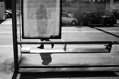 (Donato Buccella / sibemolle) Tags: street blackandwhite bw italy reflection self milano turati canon400d sibemolle keptbythegutter fotografiastradale ahahahahahcheselfstrritttself keeplaffingstocks