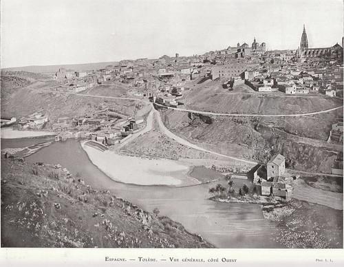 Toledo hacia 1875. Fotografía de Lucien Levy