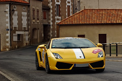 Balboni ([ JR ]) Tags: 2 paris car yellow jaune nikon explore exotic lp lamborghini supercar v10 rallye gallardo 2010 560 d40 balboni fialeix