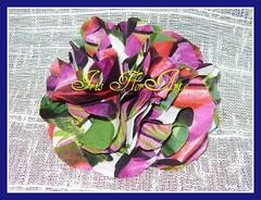 Parabéns artesã (o)!!!!!! hoje é o seu dia (Iris Florarte) Tags: flor fuxico pap tecido artesnato
