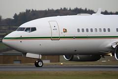 N79711 - 30547 - Dallah Al Baraka - Boeing 737-7BQ BBJ - Luton - 091202 - Steven Gray - IMG_4772