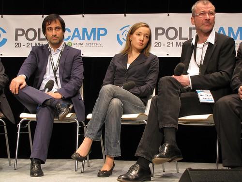 PolitCamp: Alexander Görlach, Kristina Schröder, Volker Beck #pc10
