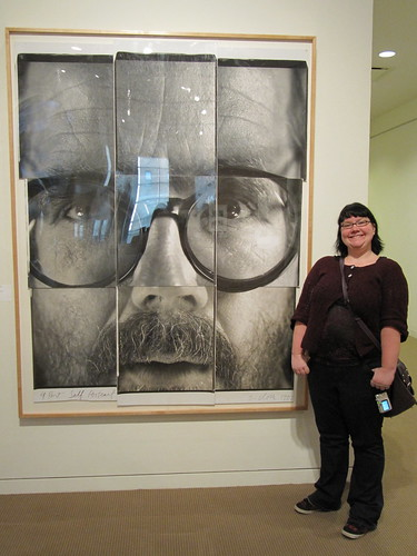 Me and Chuck Close