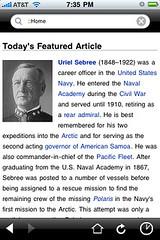 Wikipedia officlal app