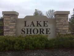 Lakeshore subdivision