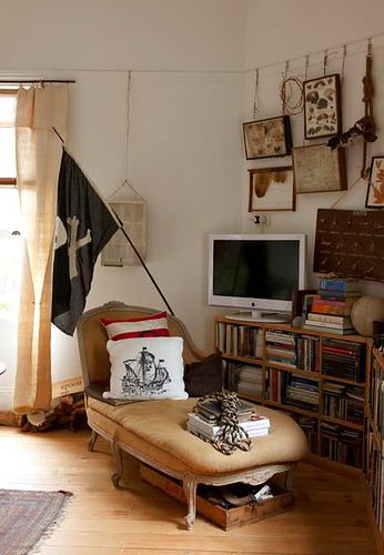pirate living room