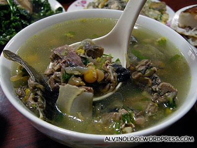 Turtle soup (甲鱼)