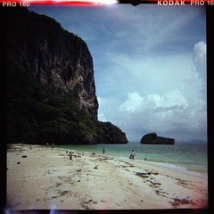 (vikkies) Tags: sea 120 6x6 beach thailand island diana koh krabi