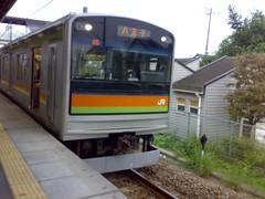 Hachiko Line train 2 (Komagawa to Hachioji)