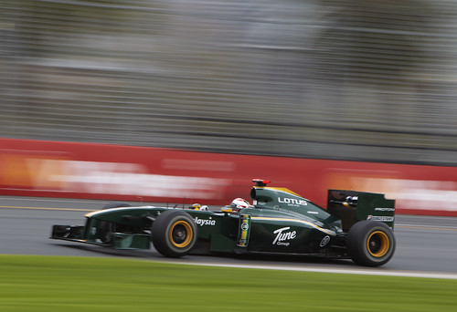 Lotus Racing Official Fan site