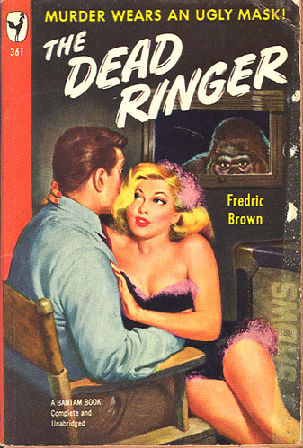 THE DEAD RINGER paperback cover