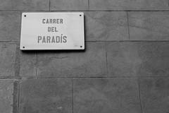 Carrer del Paradis