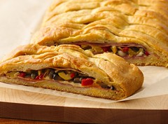 Bourbon Street Muffuletta Braid (Pillsbury.com) Tags: food cheese dinner bread recipe baking louisiana massachusetts neworleans contest ham genoa frenchquarter olives garlic roll easy bourbonstreet oliveoil simple bake mozzarella salami pillsbury braid crisco provolone bourbonst finalist mortadella bakeoff entree muffuletta maincourse redbellpepper redwinevinegar maldenma egglandsbest crescentroll crescentrecipecreations doughsheet dinnersmadeeasy janninefisk bourbonstreetmuffulettabraid