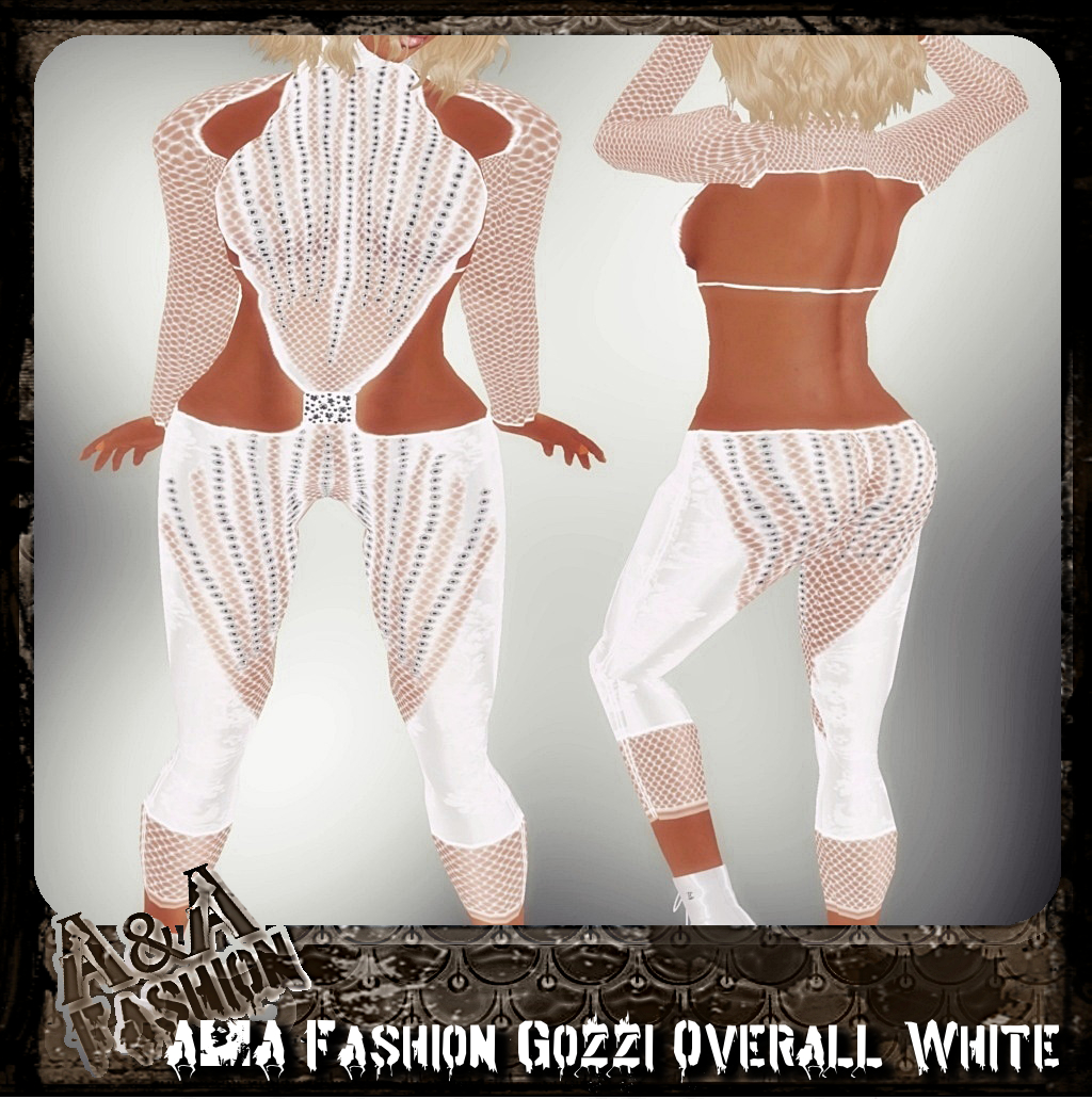 A&A Fashion Gozzi Overall white