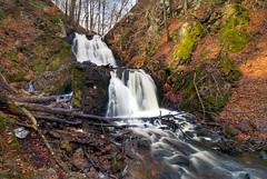 Forsakar Lower Falls (claustral) Tags: winter water waterfall skne nikon sweden d200 hdr forsakar degeberga nd110