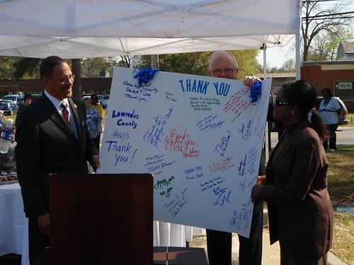 Thank You Sanford Bishop (GA-02)