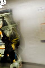 Fantome du RER en couleur (Reibenberg) Tags: longexposure blur paris france underground subway europa europe metro ghost tube slowshutter ubahn francia flou fantme ratp rer parigi leonardodicaprio scorcese digitalcameraclub stif rera reibenberg shutterisland