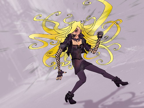 Project : Rooftop Black Canary Redesign