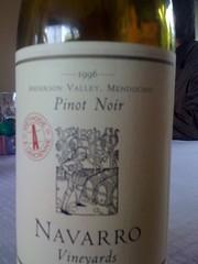 1996 Navarro Pinot Noir Methode Alancienne