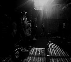 Me & you makes Two (Ian Brumpton) Tags: street uk england blackandwhite bw london blancoynegro luz blackwhite noiretblanc candid streetphotography highcontrast shadowplay nottinghill streetscenes contrejour biancoenero loveisintheair londonist londonstreetphotography aimlessstrolling blackwhiteheartbeats meyoumakestwo aprisonerofyourlove