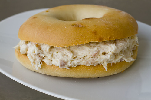 Whitefish Salad on a Bialy -whole 3