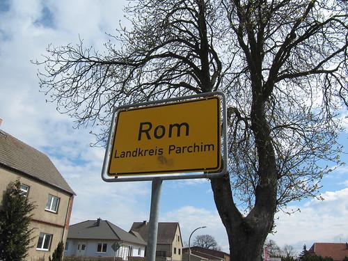 Wir sind dann mal in Rom