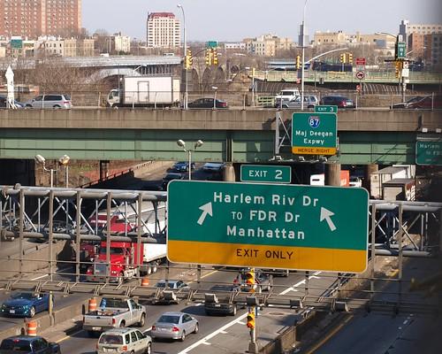 M038 Amsterdam Avenue Bridge Over Trans Manhattan Expressway New