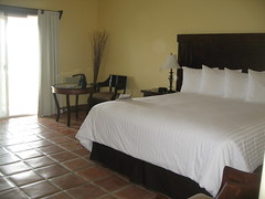 A room at Hacienda Guadalupe