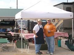 Buck and Big Earn - Osage Kansas 04/2010 (Okie Boys) Tags: bill bbq obq okieboysque smokingkcbs