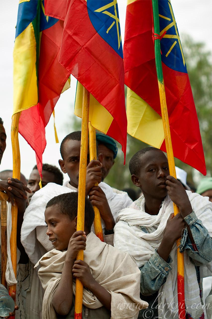 Flag-Bearers #2, Axum, Ethiopia, 2009