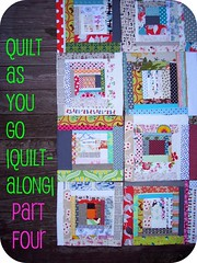 quilt as you go |quilt-along| part four