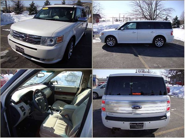 Four Different Views of the The 2009 Ford Flex 2WD 4D Wagon Limited - Now Available at Dahl Ford