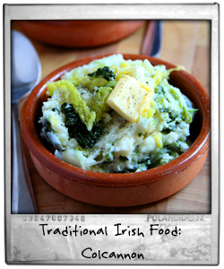 Traditional Irish Food: Colcannon