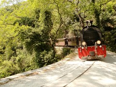 Train in the nature ( Eleonora Eli ) Tags: trip nature train greece volos pilio mywinners
