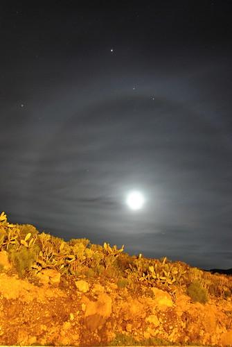 Luna con cerco