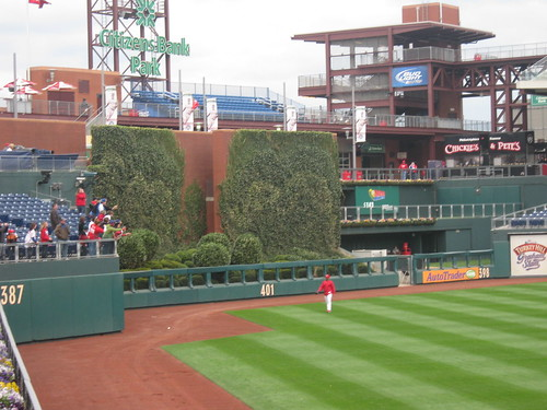 Center Field at Citizens Bank Park