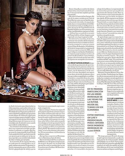 Publicación para el El Magazine