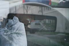 (kingschaser) Tags: auto grau polo tacho lenkrad mobilitt strase mehrfachbelichtung