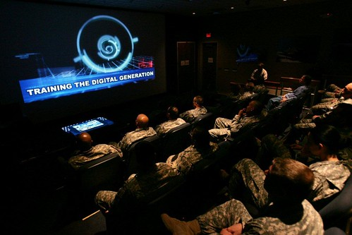 RDECOM NCOs attend technology brief