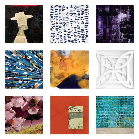 """Gebert Gallery Abbot Kinney  """"Anniversary Group Show""""."""