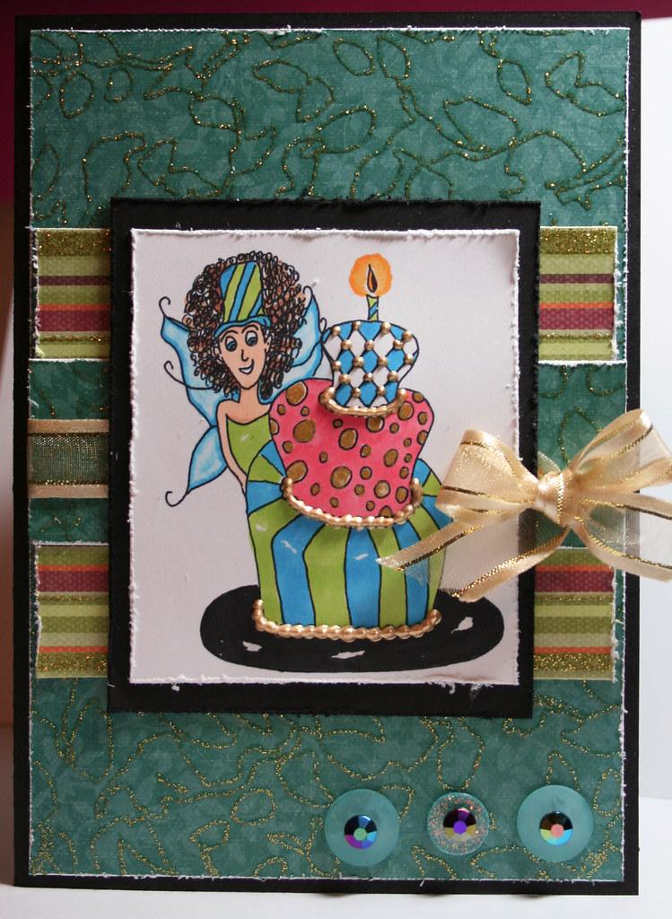 Amelia Cake Card