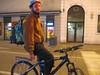 Dado in bici la sera