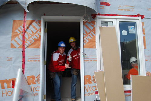 Month of Action - TO Sales Team at Habitat for Humanity