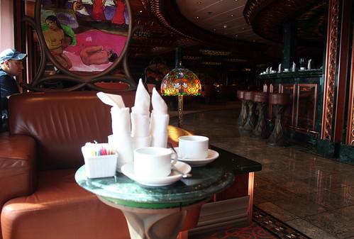 Carnival Spirit - Tea Setup