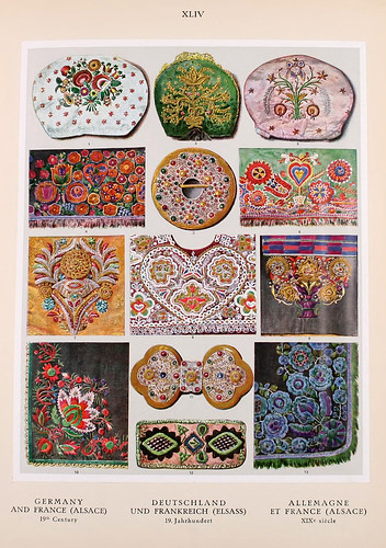 012-Alemania y Francia siglo XIX-Ornament two thousand decorative motifs…1924-Helmuth Theodor Bossert