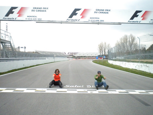 Montreal Grand Prix Start